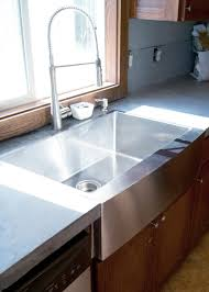 Concrete Countertops And Sinks Created Using Davis Colors Concrete Concrete Sink Kitchen