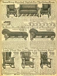 1914 Sears Household Catalog fancy living room furniture