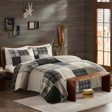 Woolrich 3-piece Winter Hills Plaid Quilt Set &  Adamdwight.com