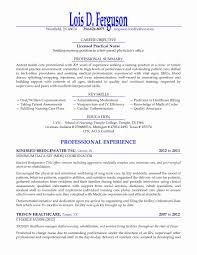 Lpn Resume Sample Long Term Care New Lpn Resume Template Unique Lpn