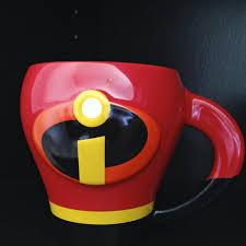 Dan the Pixar Fan: The Incredibles: 3D Character Mug