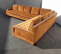 Sofas Mid Century Modern Sectional Couch Mid Century Leather
