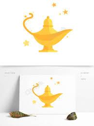 Magic Magic Aladdin Magic Lamp Cartoon Stars Illustration Image