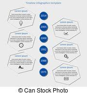 Infographic Timeline Vector. Company History Template. Biggest ...