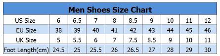 Foot Length To Shoe Size Chart 56 New International Shoe Size Chart Home Furniture