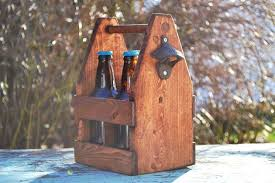 Rustic 4 Pack Beer Tote. 18 Amazing DIY Reclaimed Wood Projects ...