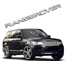 Car Exterior <b>Styling</b> Badges, Decals & Emblems RANGE ROVER ...