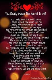 What You Mean To Me Quotes Impressive How Much You Mean To Me Quotes For Him And Her