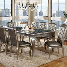 excellent silver dining room chairs at best home design 2018 tips silver dining room chairs decor