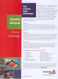 <b>Electric Infrared</b> - The Comfort <b>Heat</b> Advantage.