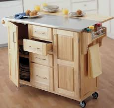 Kitchen Island Table On Wheels Kitchen Room 2017 Kitchen Cart Convenient Storage Option Kitchen