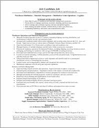 Logistics Manager Resume Samples Tips And Template Formt Examples ...