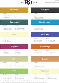Rit Color Chart Favorite Rit Dye Colors Pdf Free Download