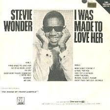 Image result for I Was Made to Love Her - Stevie Wonder