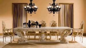 dining room round table set blue velvet chairs glass top sets chandelier antique white