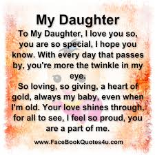 I Love My Daughter Quotes Awesome Download I Love My Daughters Quotes Ryancowan Quotes