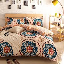image of amazing antique bohemian duvet cover