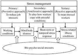 Stress Management Flow Chart Stress Relief Meditation