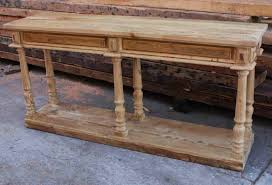 narrow hall table with storage. amazing narrow hall table with storage unfinished diy rustic pine console made from