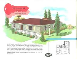 ranch house ilration color 1950s floor plans ranch house ilration color 1950s floor plans