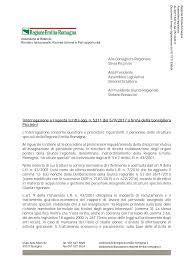 Alla Consigliera Regionale Silvia Piccinini Alla Presidente Assemblea  Legislativa Simonetta Saliera Al Presidente Giunta Regiona