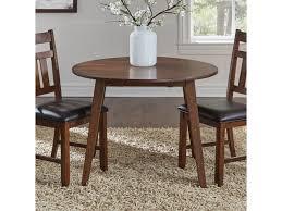 Aamerica Mason Masma6100 Round Drop Leaf Dining Table Gill