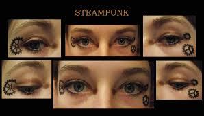steunk eye makeup by amika crystacia