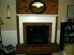 full size of red brick fireplace mantel ideas hearth white decorating marvellous surrounds adorable