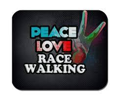 Rubber Design Sf Amazon Com Makoroni Peace Love Race Walking Non Slip