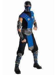 notify subzero. Deluxe Mortal Kombat Subzero Costume Notify R