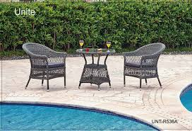 Outdoor Rattan Chairs With Table Bistro Set Rattan Wicker Patio