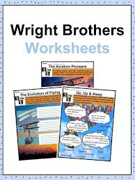 Inventors And Their Inventions Chart Wright Brothers Facts Worksheets History Accomplishments