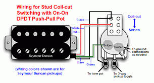 wiring the disadvantage here is that the pickup is no longer humbucking and the volume will be less than if both coils are active here is a diagram of the wiring