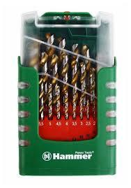 <b>Набор сверл Hammer</b> 202-908 No8 — купить по выгодной цене ...