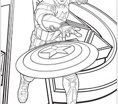 Small Picture Captain America Coloring Pages Best Coloring Pages