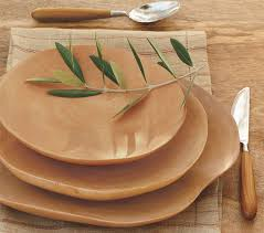 handcrafted mango wood plates the green head