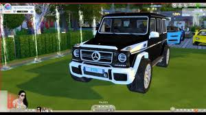Mercedes amg g63 - The sims 4 - YouTube