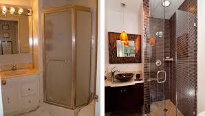 before and after bathroom remodels. Contemporary Before Modern Small Bathroom Remodels Before And After Throughout And O