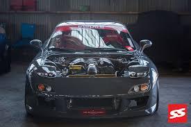 mazda rx7 2014. blox evolution 2014 mazda rx7 front bumper 44