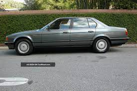 BMW Convertible 1990 bmw 750 : 1990 BMW 7 Series - Information and photos - ZombieDrive