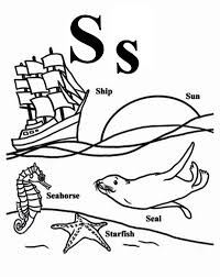 Small Picture Preschool Kids Learn Letter S Coloring Page Bulk Color
