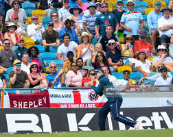 Jason Roy of England takes the catch to ...