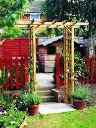 diy garden trellis garden arch trellis