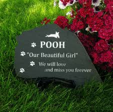 flagstone pet memorial stone 16 to