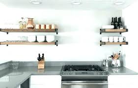 kitchen shelving shelves large size of wall storage turning cabinets into open stainless steel c