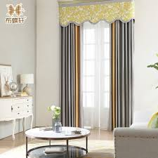 office drapes. Curtains Office. 2018 New Arrival Grey And Orange Drapes For Bedroom Office Thick Solid Cotton C