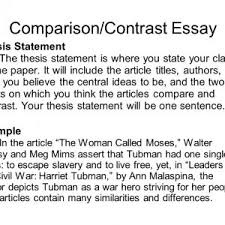 compare essay outline thesis statement for comparison efefacedbb thesis statement for comparison essay compare and contrast essay thesis statement slide
