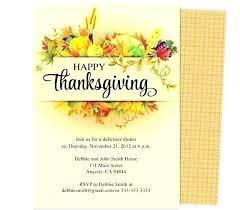 Free Printable Thanksgiving Party Invitations Tinajoathome