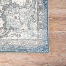 jaipur rugs machine made dark slate 2 ft x 3 ft oriental area rug