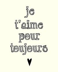 French Love Quotes Inspiration I'll Love You Forever Pennywishes On Etsy LOVE Is All You Need